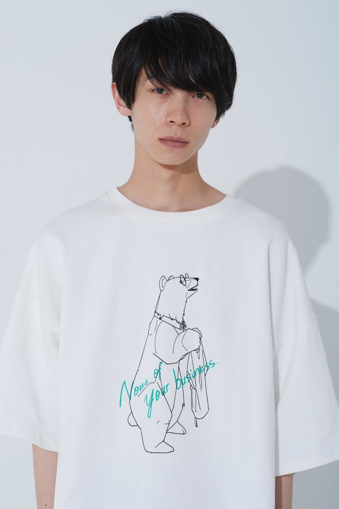 SLUMBER BEAR TEE(クマプリントTシャツ)