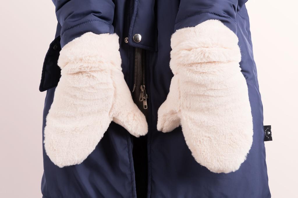 もこもこ手袋