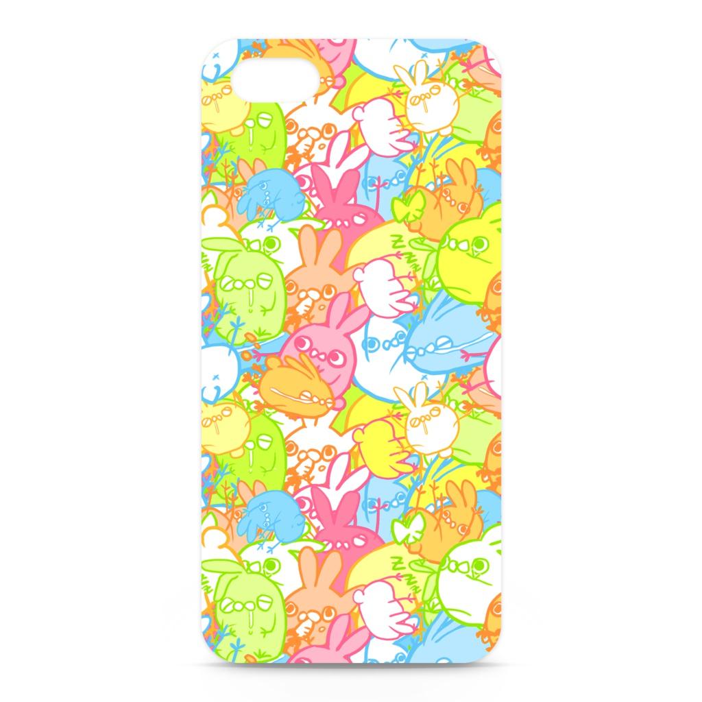 うさ虫 iPhoneケース(カラーver.)