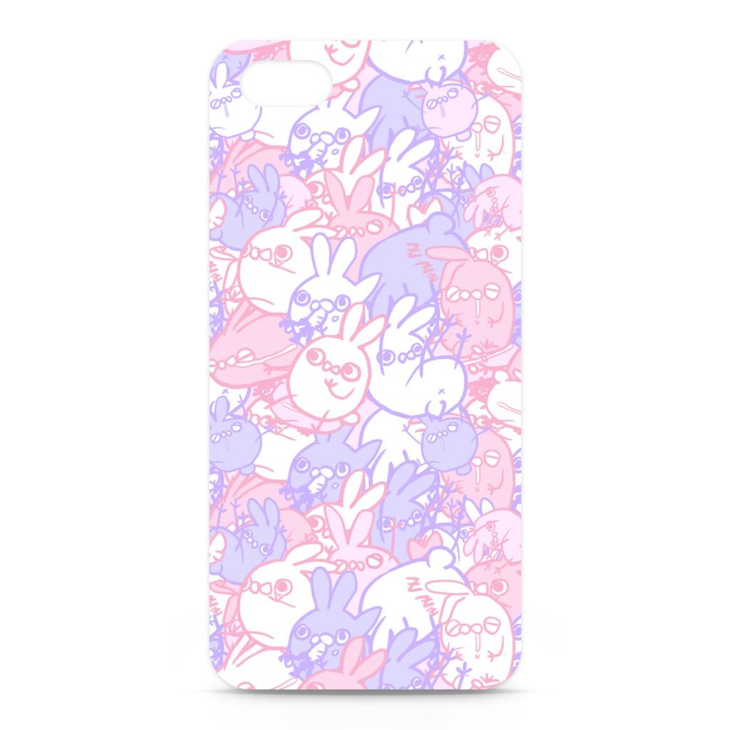 うさ虫iphoneケース ラブリーver Shikihitone Booth