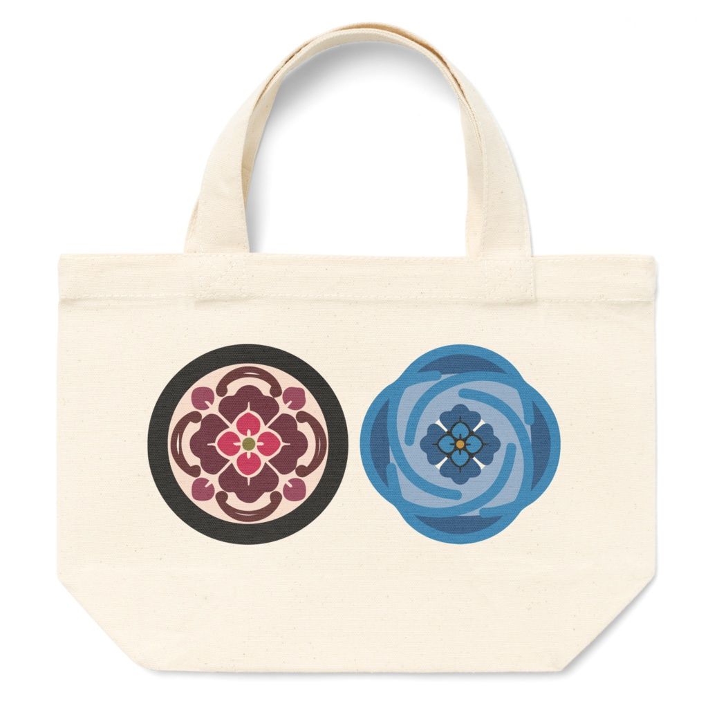 沖田組 カラー紋 トートバッグ