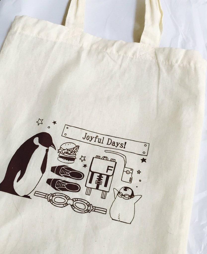 スティレオペンギンA4コットンバッグ