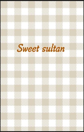 Sweet sultan