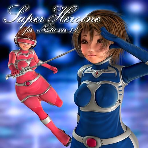 Super Heroine Set for Natu Ver 3.1