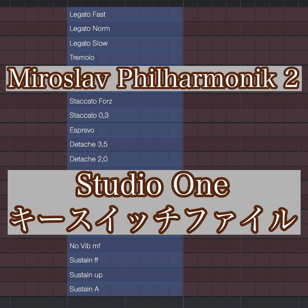 StudioOne Keyswitch File for Miroslav Philharmonik 2