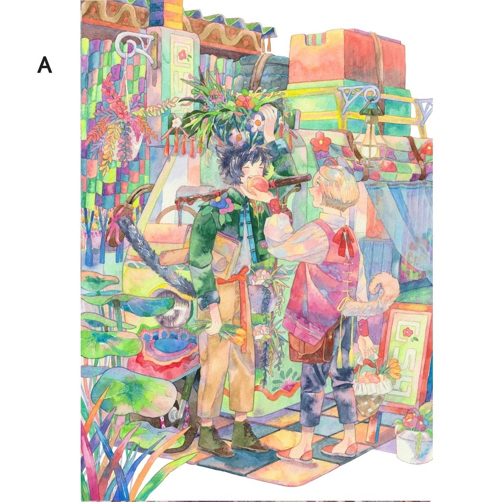 ポストカード(A〜L)