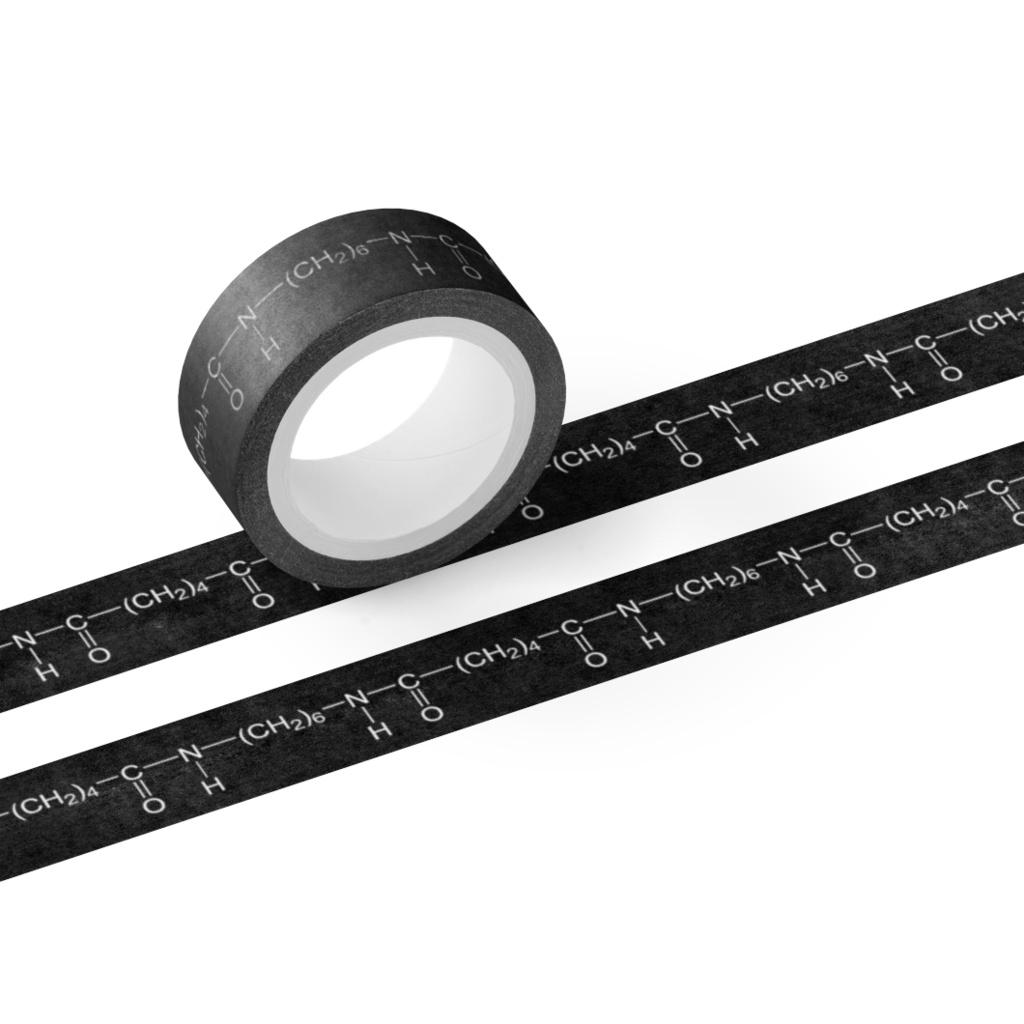 【高分子マスキングテープ】ナイロン66(黒)