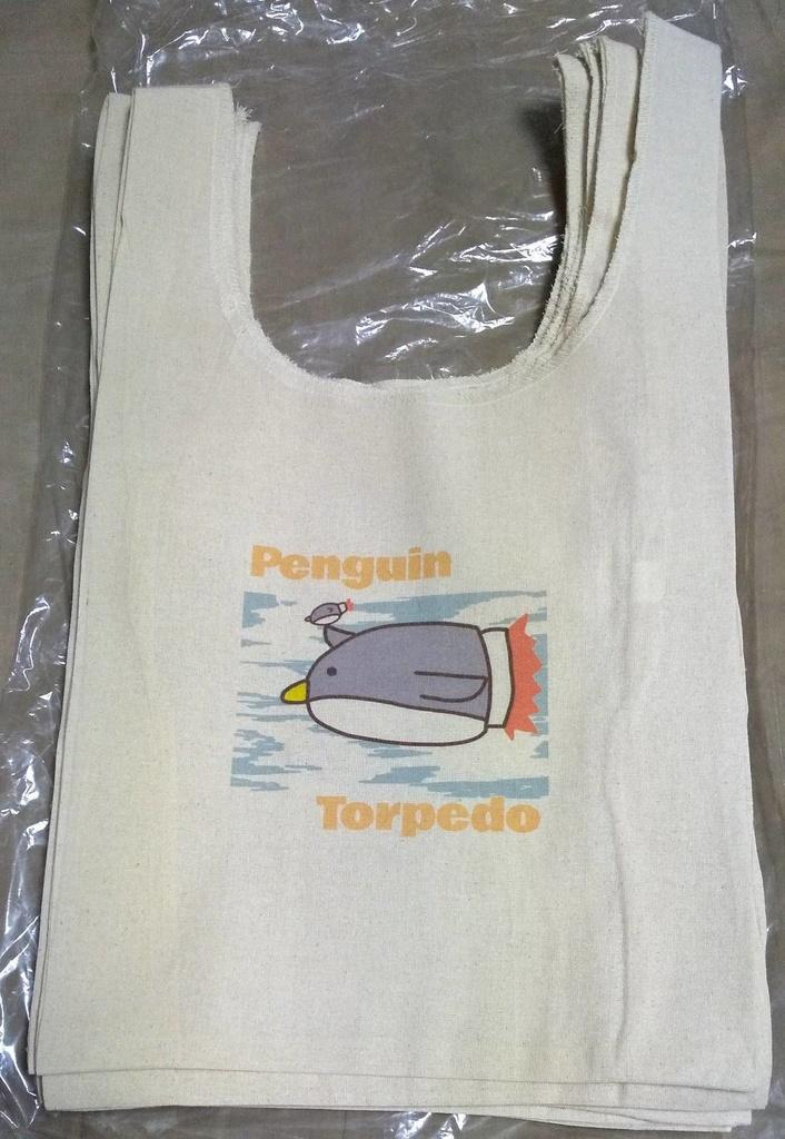 ペンギン魚雷 マルシェトートバッグ
