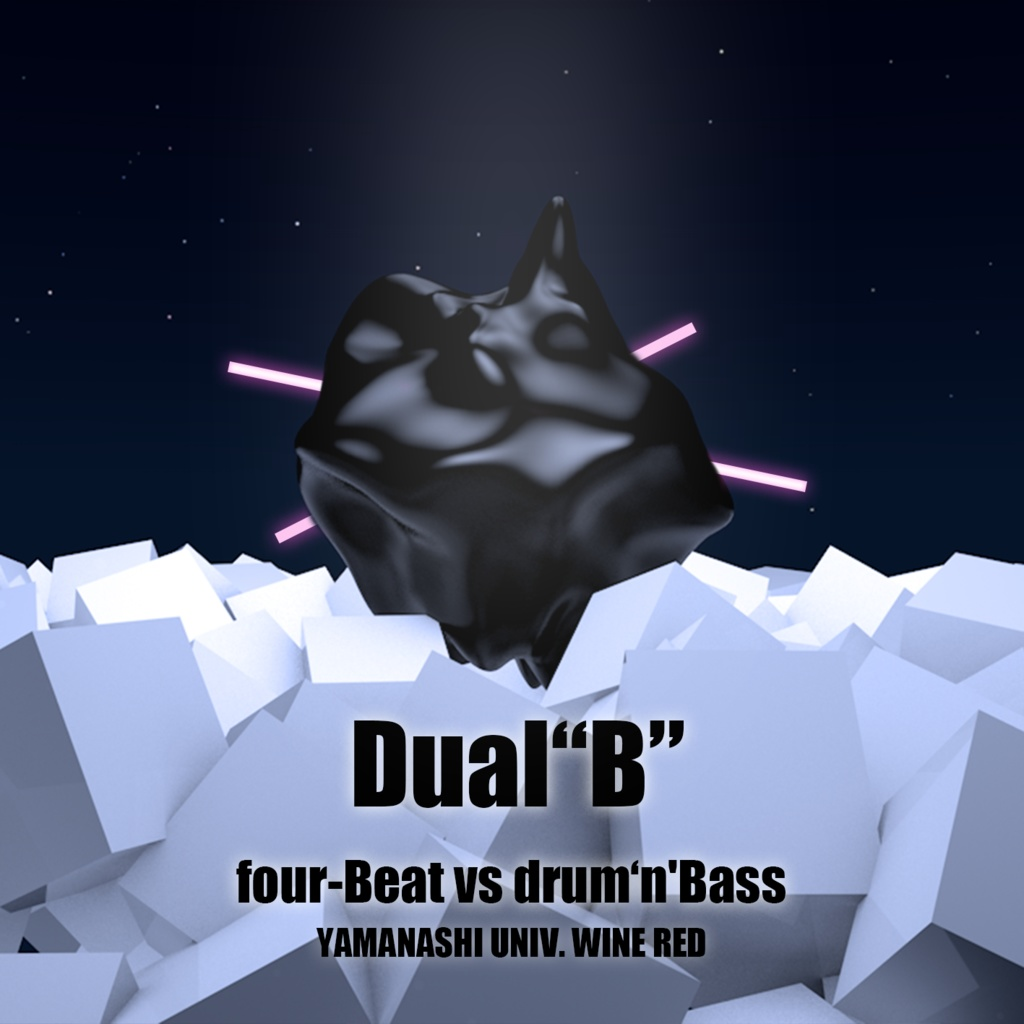 "Dual""B"" ~four-Beat vs drum'n'Bass~"
