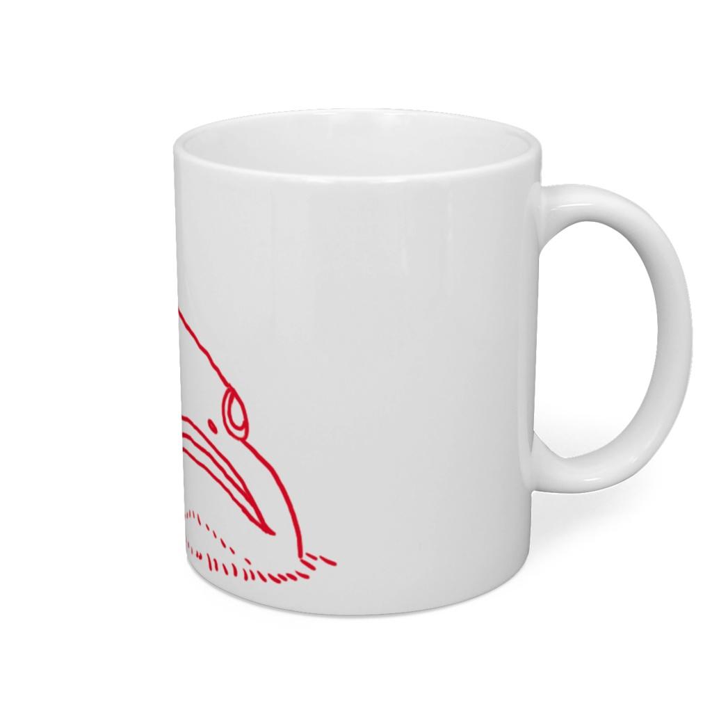 ミドリフサアンコウマグカップ