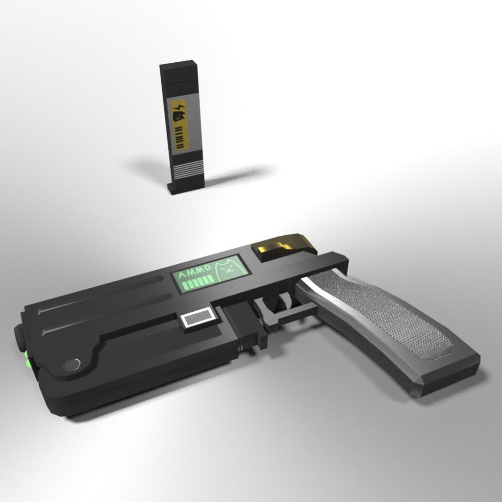 VRChat使用推奨武器モデル「ひにょうガン01」