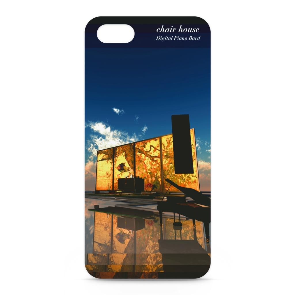 モノリスなピアノ chair house iPhone Cover