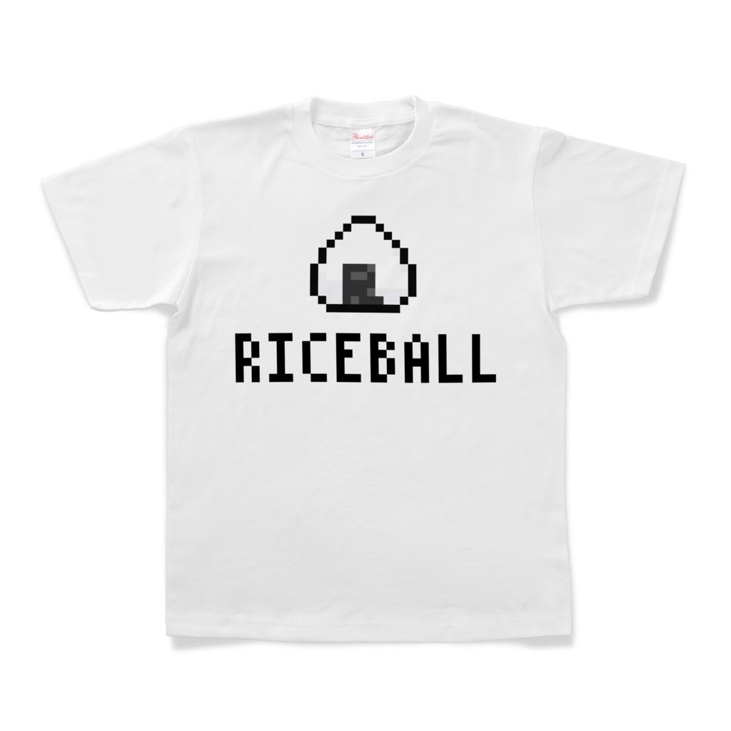 Tシャツ「RICE BALL (100TURN勇者)」