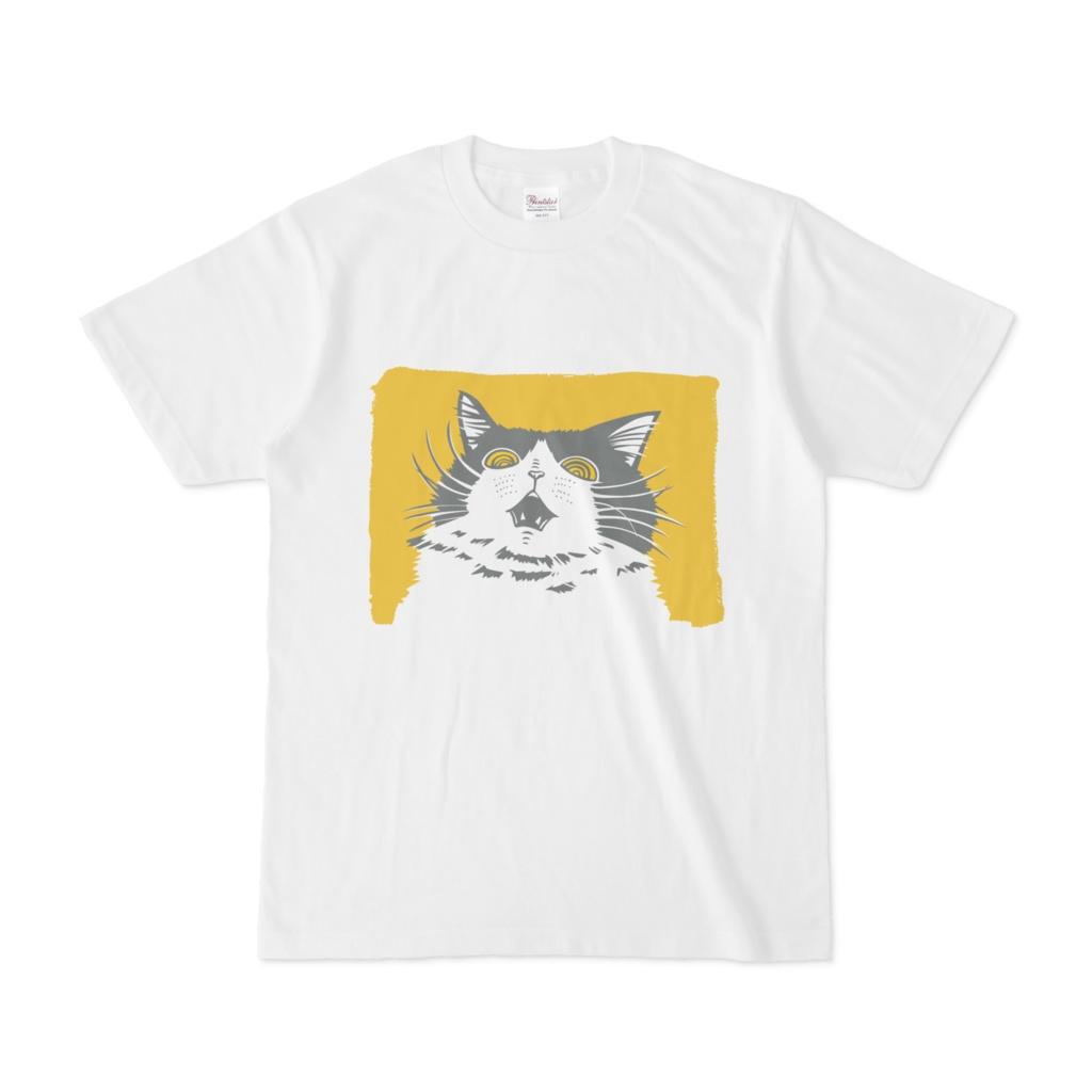 !!!猫Tシャツ