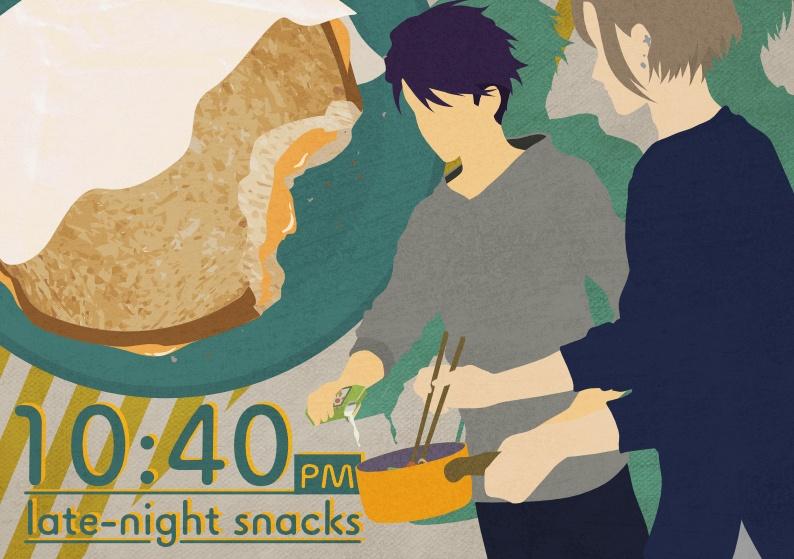 10:40PM late-night snacks