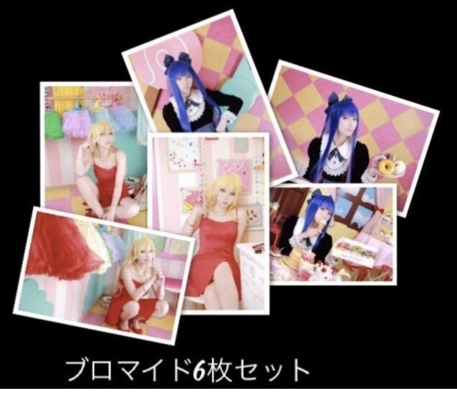 Panty & Stocking with Garterbelt  ブロマイドセット