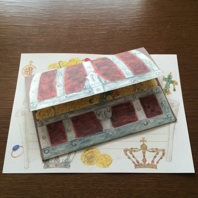 Letter Set Treasure Box