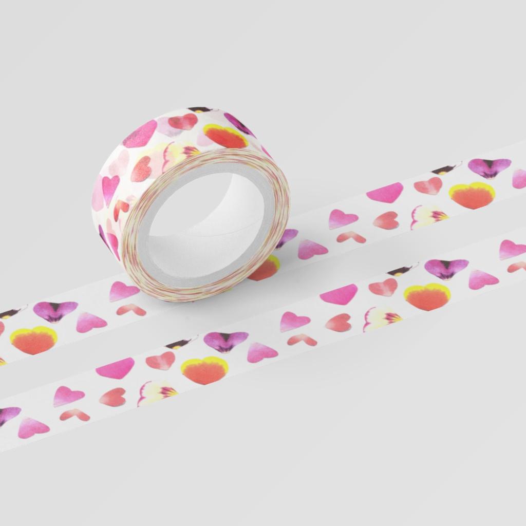 花びらふんわりマスキングテープ