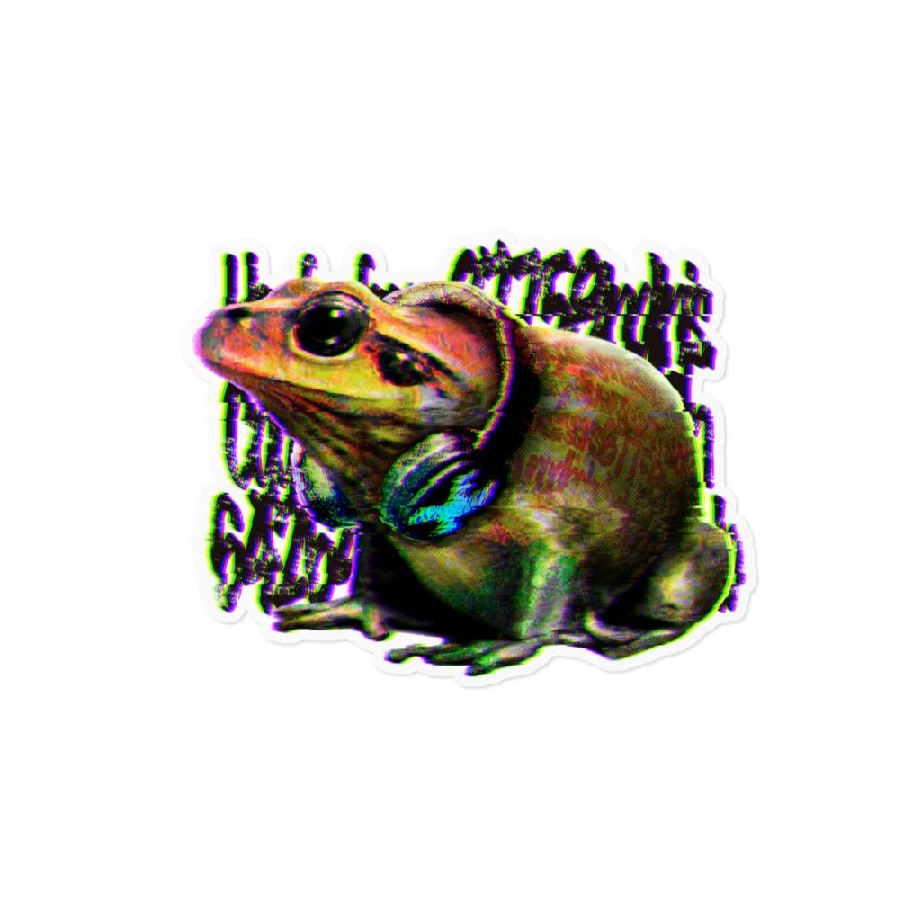 【Frog】ステッカー