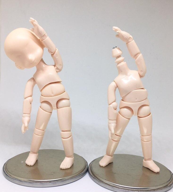 オビツ11通常版腹部差替えパーツ(2個入り)