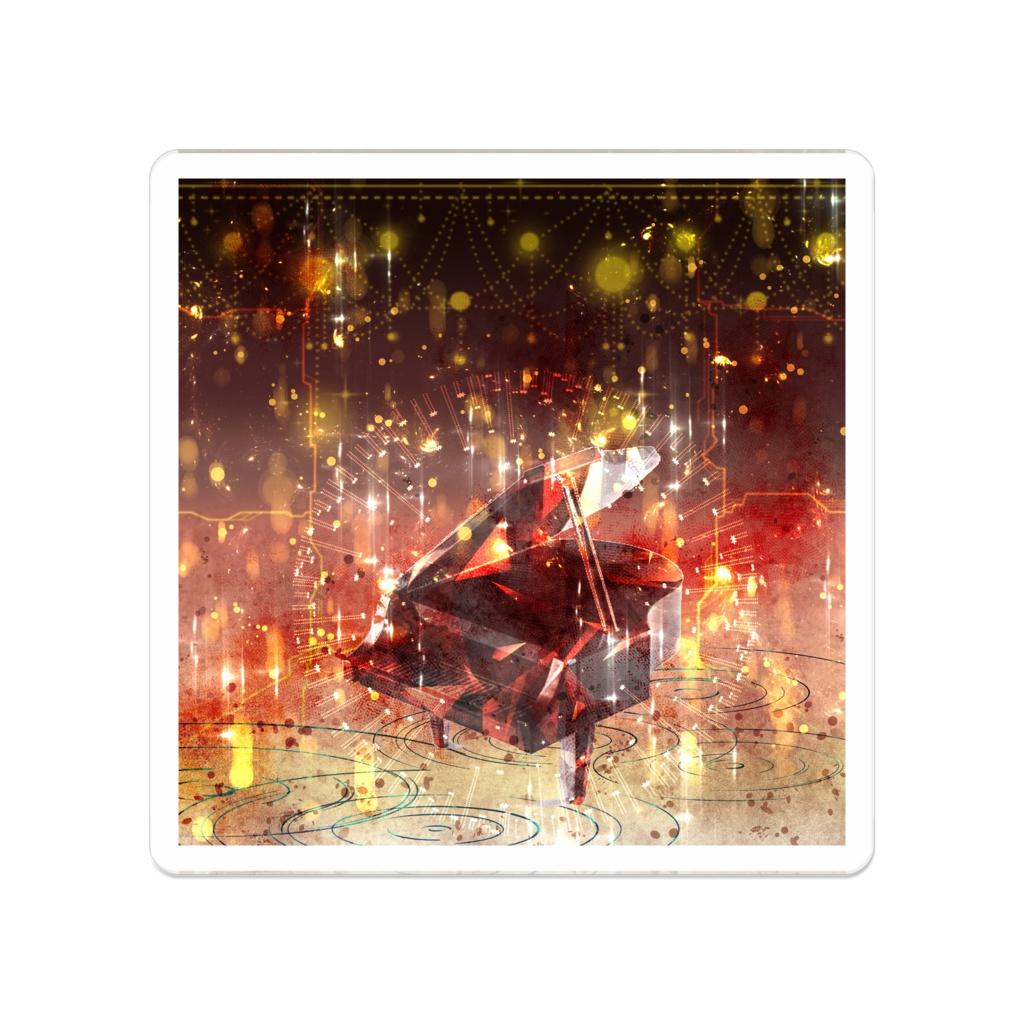 【LAG】デザインアクリルバッジシリーズ8 [50 x 50 (mm)]