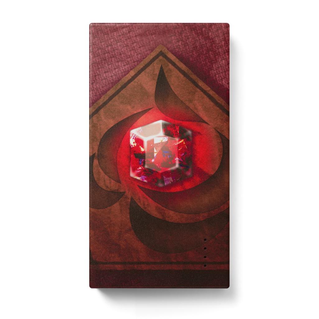 【モバイルバッテリー】ガーネット・炎の石版