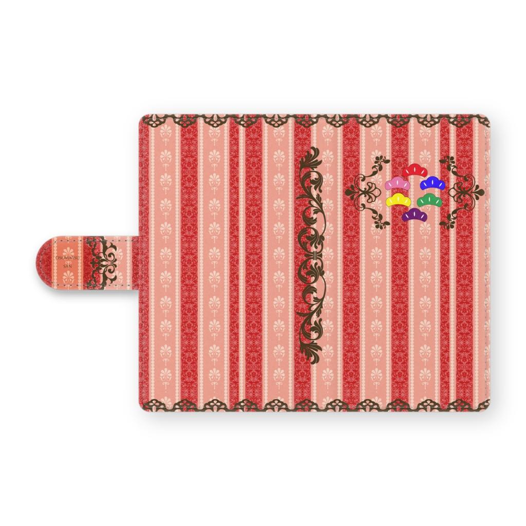 【おそ松さん】手帳型Androidケース2・赤