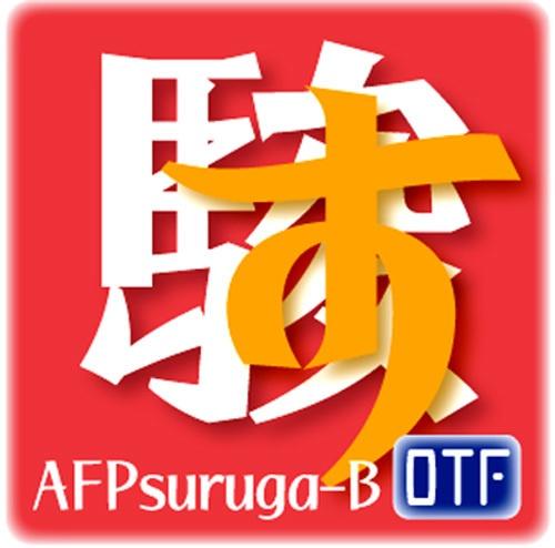 AFP駿河-B(OpenType版)Ver.2.0