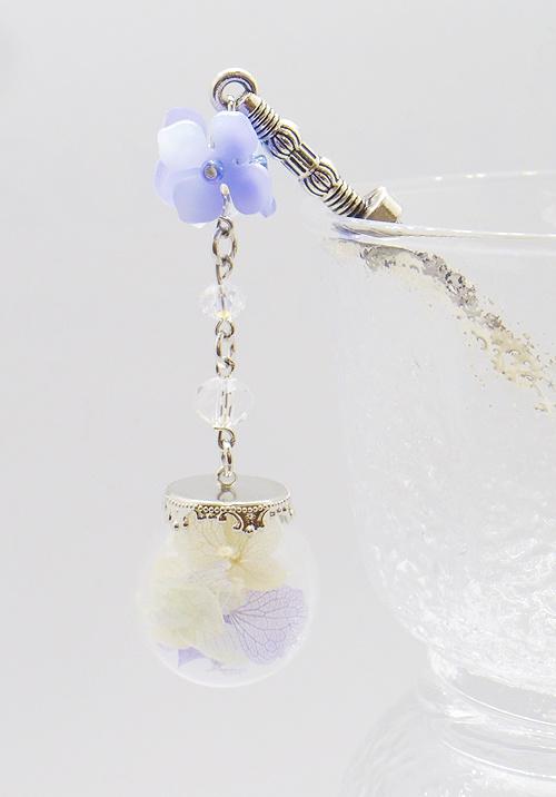 紫陽花の簪