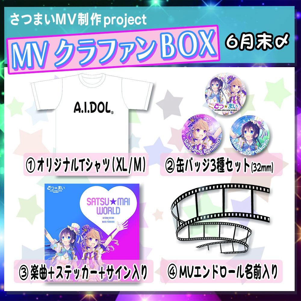 ❶MVクラファンBOX【SATSU★MAI WORLD】