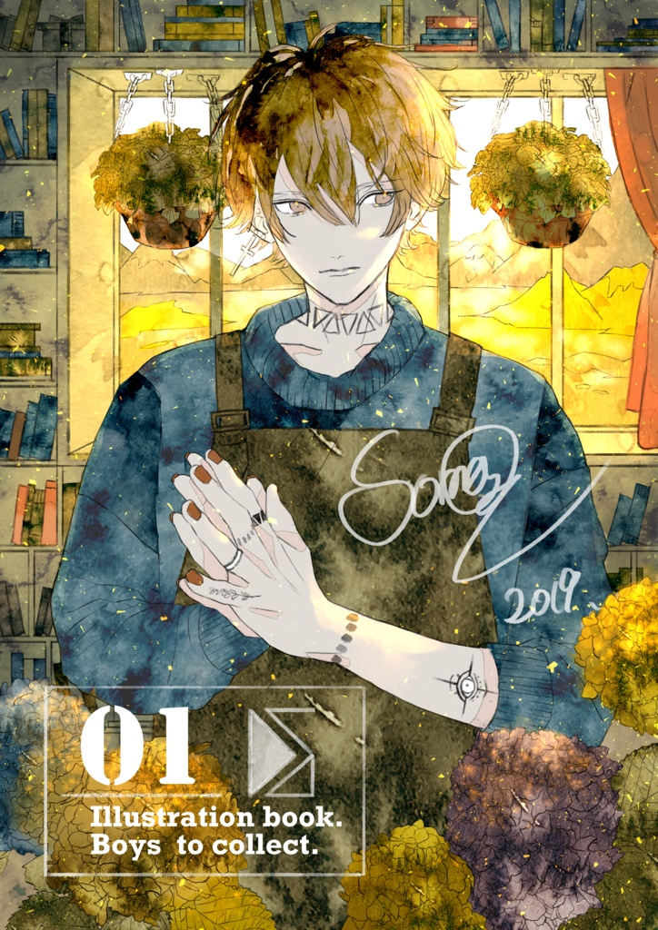 画集01 illustration book01