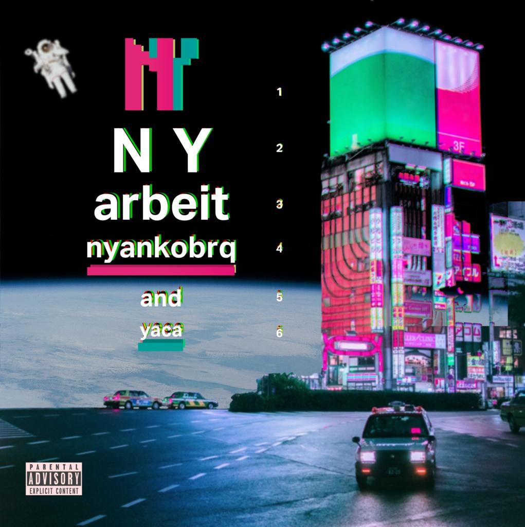 "CD版 nyankobrq & yaca ""arbeit""  + instrumental album データ"