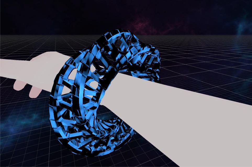 レイマーチング腕輪シェーダー
