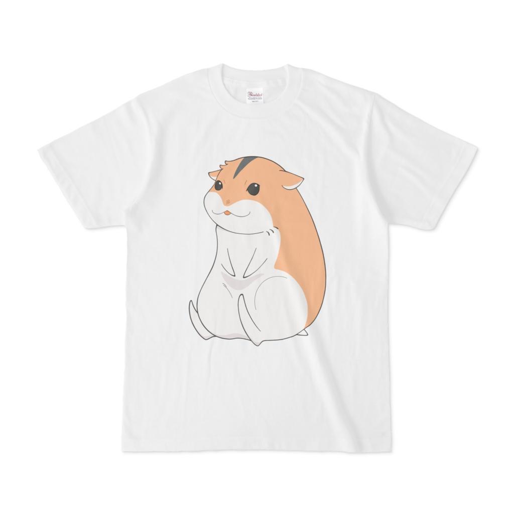 ハムスターTシャツ【キャラメル】
