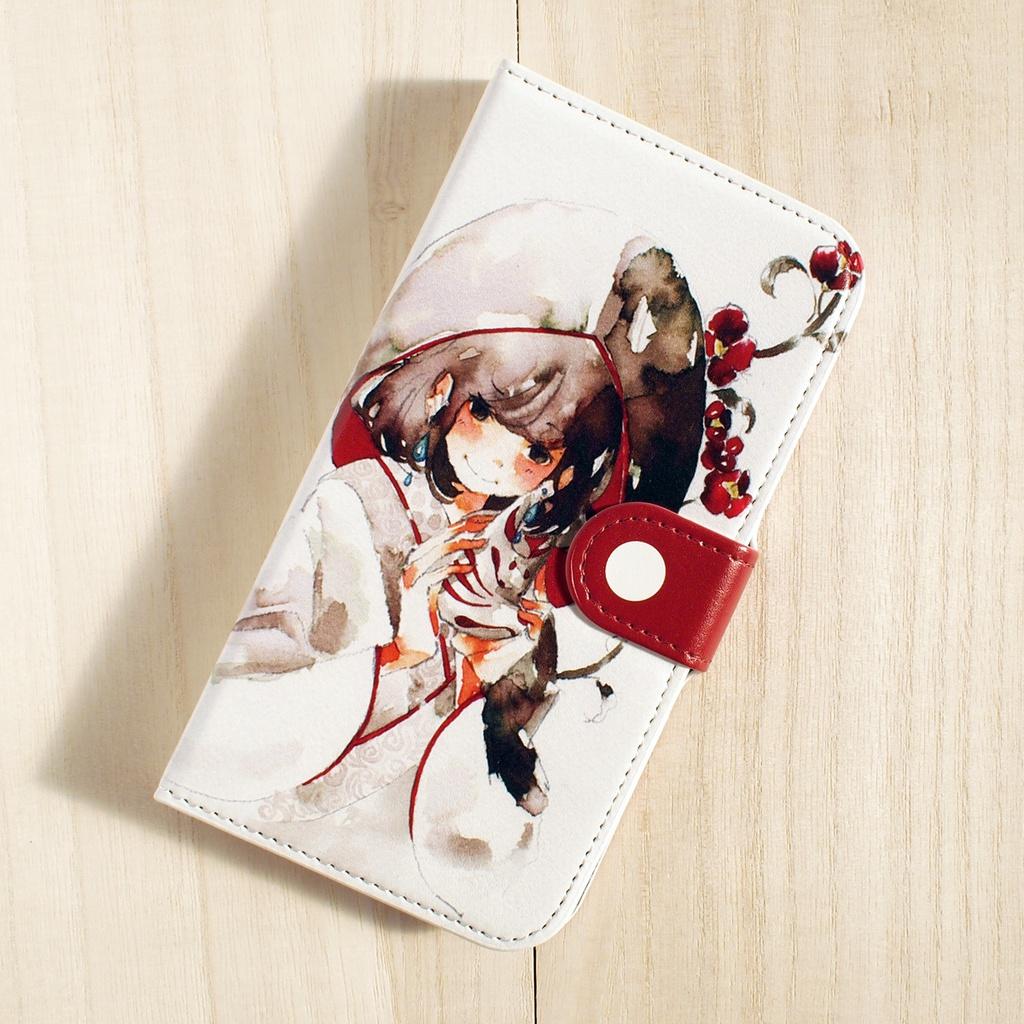 【iPhone5/5S/SE】手帳型ケース・狐の嫁入り