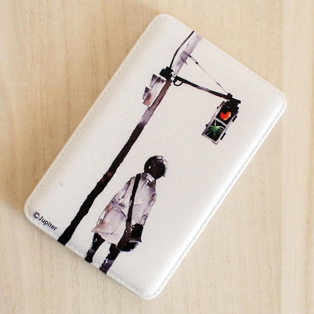 【モバイルバッテリー】/道しるべ