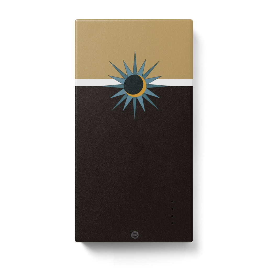 太陽モチーフ*太陽と月* モバイルバッテリー