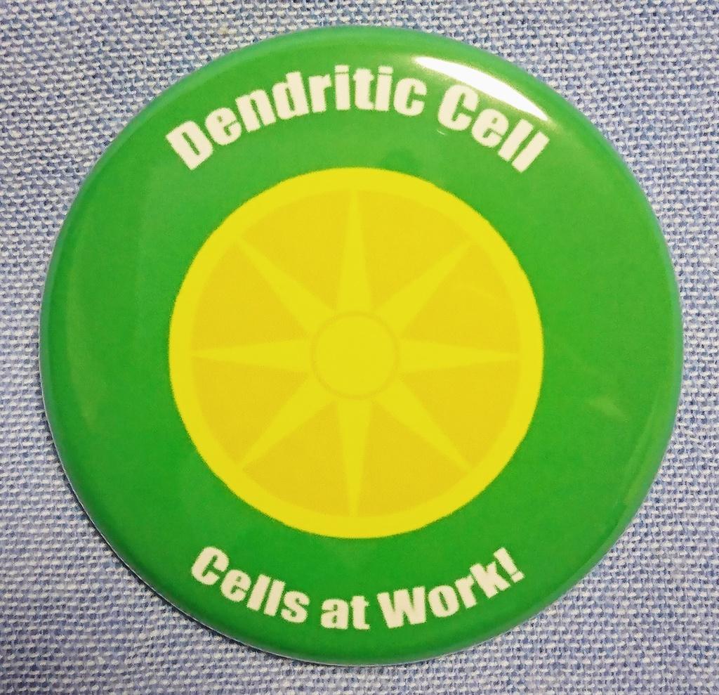 【はたらく細胞】 樹状細胞 イメージ 缶バッジ