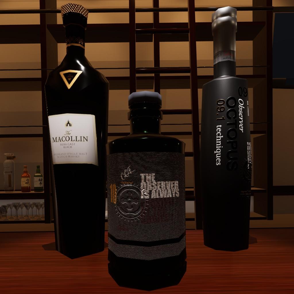 [VRC想定モデル]  空想洋酒シリーズ3本セットvol.3