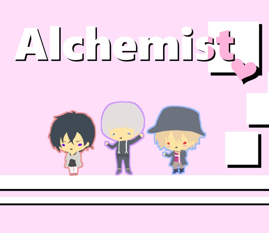 Alchemist_三角ポーチ