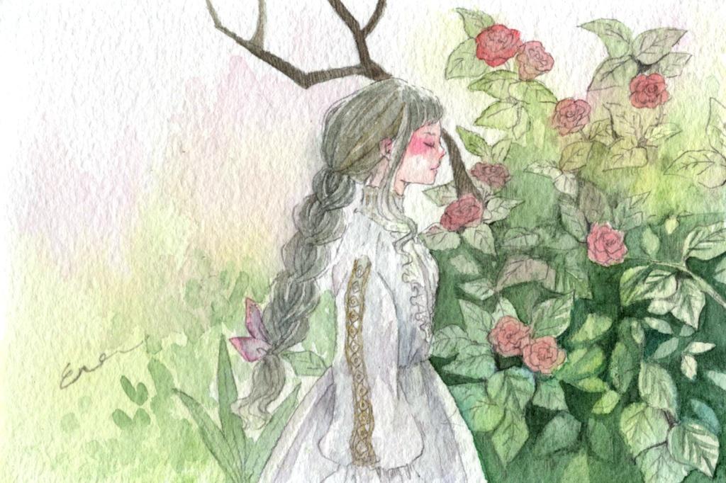 【原画】花の香り