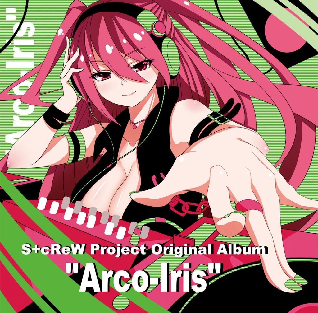 "S+cReW Project Original Album ""Arco-Iris"""