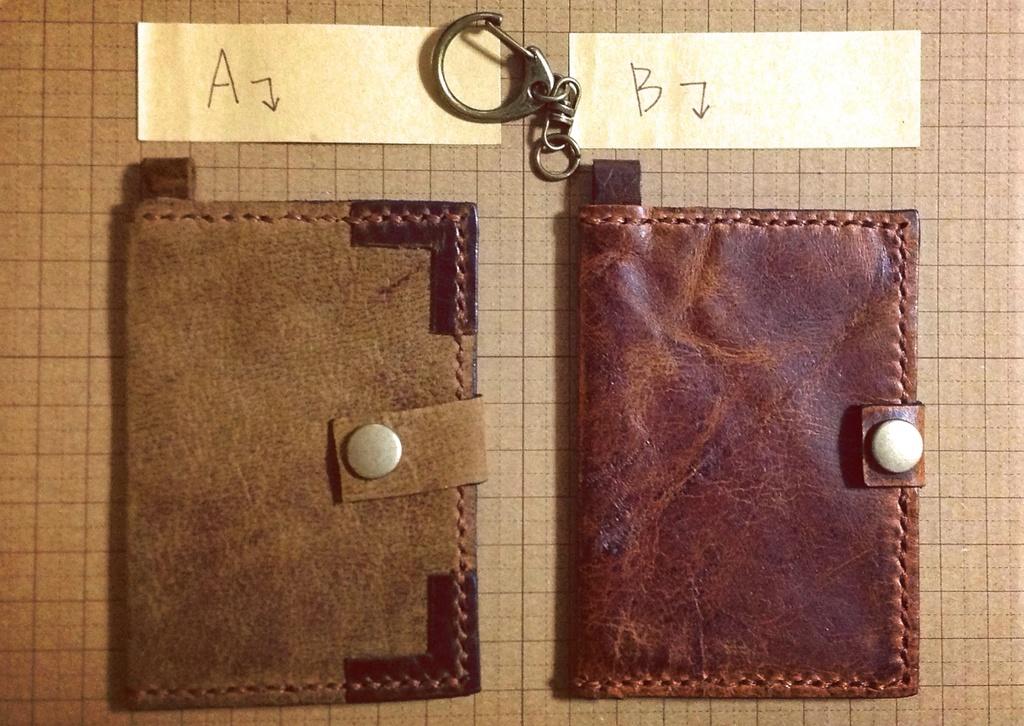 本革製パスケース(2種類)(Genuine Leather Passcase (2 types)