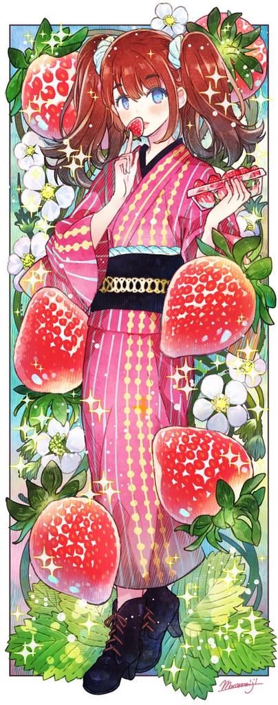 【食べる和服少女「Girls Eat JAPANESQUE」】アートコレクション