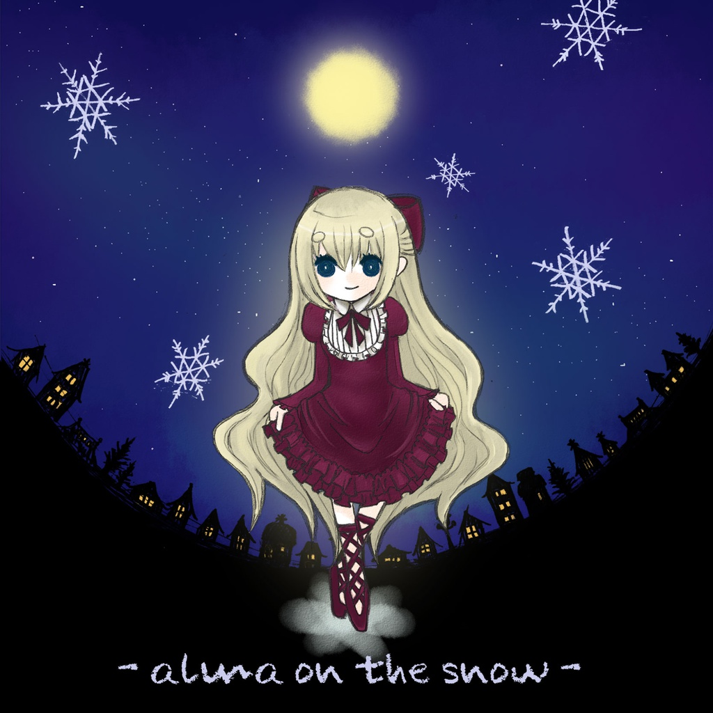 - alma on the snow -