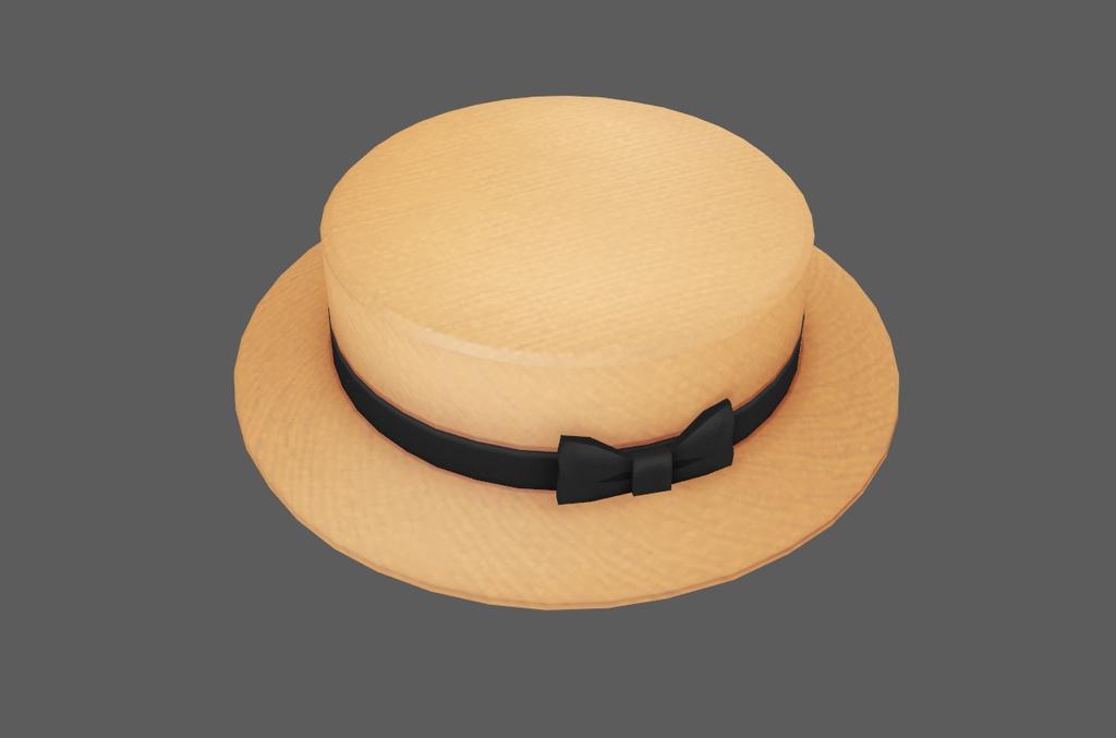 カンカン帽(無料)