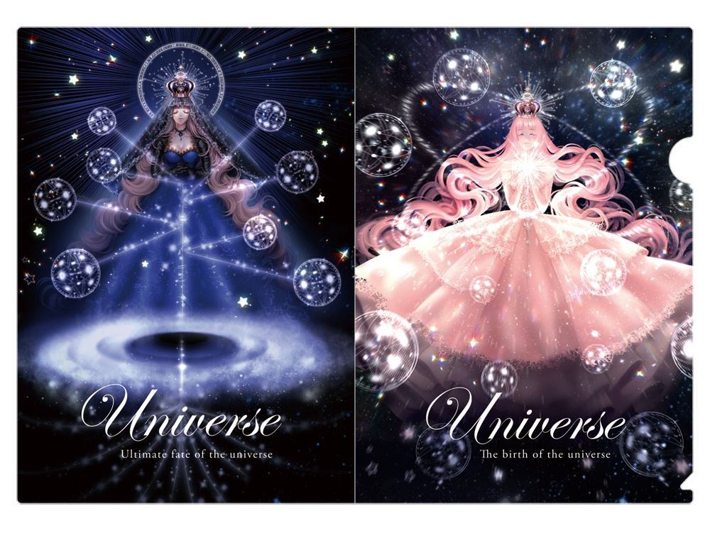 【A4クリアファイル】universe