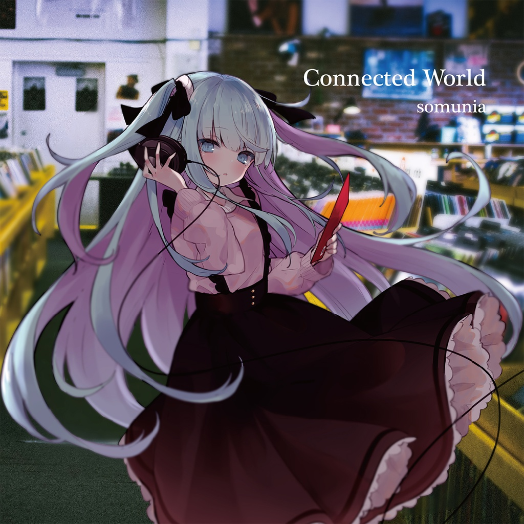 DL版 2nd single 「Connected World」
