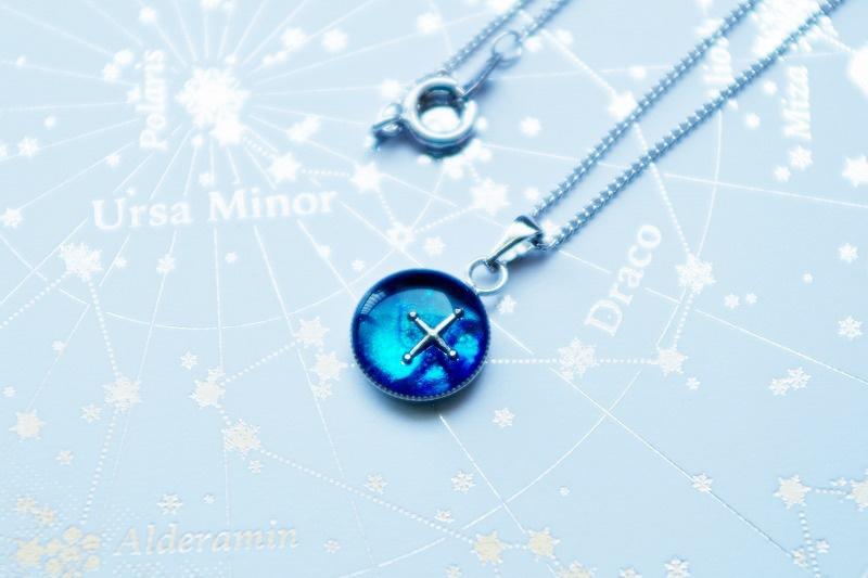 [再販5] 一等星(銀)ネックレス