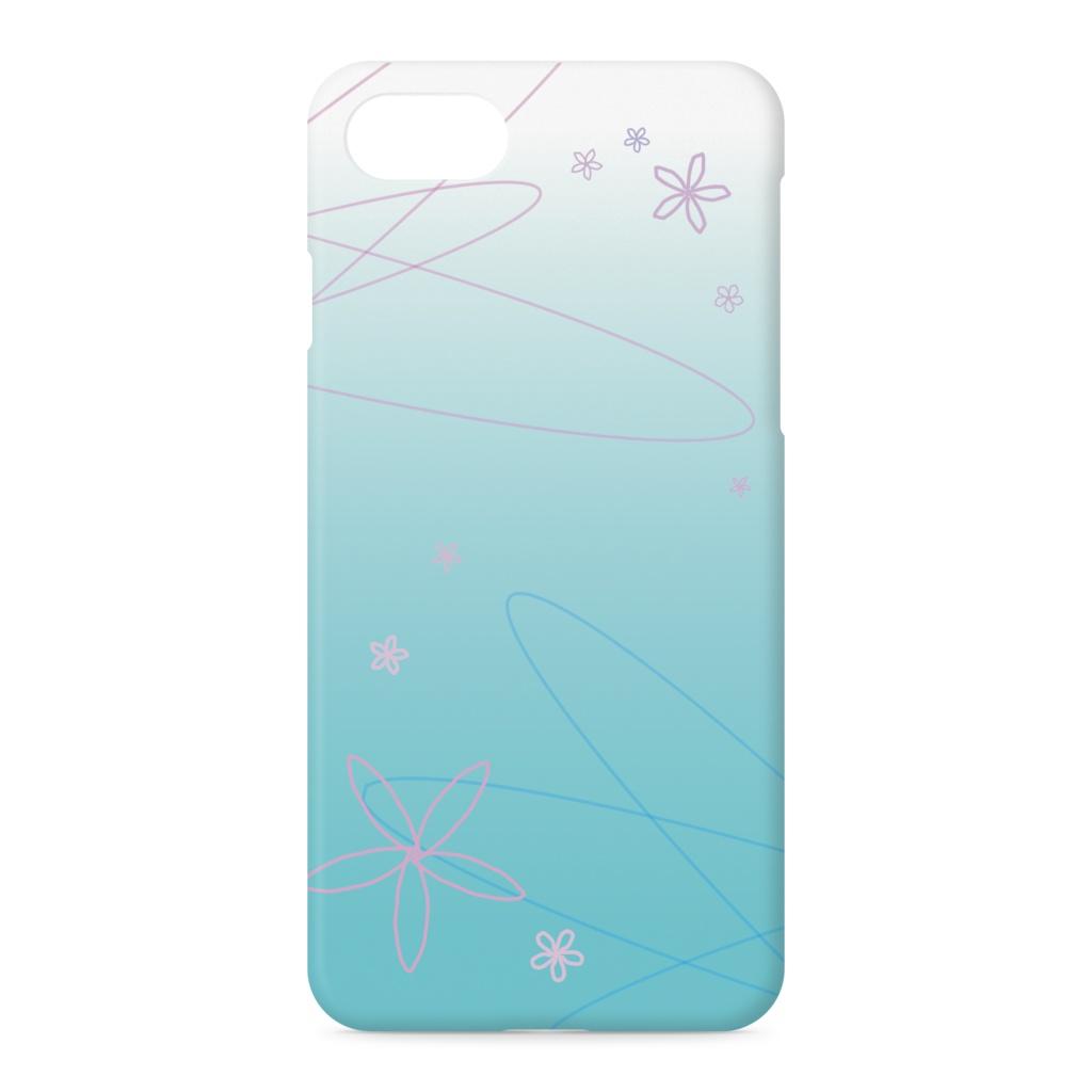 花と水 iPhoneケース